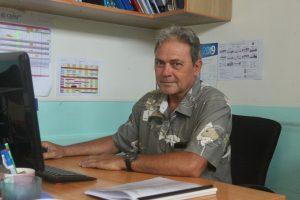 Zéphyrin Tarahu, formateur au CMMPF