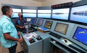 Le vice-président visite le Centre des Métiers de la Mer de Polynésie française